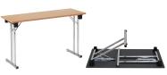 Konferencebord og eksamensbord 45 x 120 cm. Spar mange penge ved selv at samle bordene