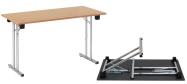 Konferencebord og eksamensbord 60 x 120 cm. Spar mange penge ved selv at samle bordene