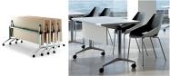Konferenceborde Flip-Top S30 er et konferencebord med bordplade som kan vippes.