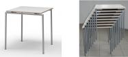 Konferenceborde Tavo Nestable er ideel til konferencer, hvor borde og stole ofte omrokkeres